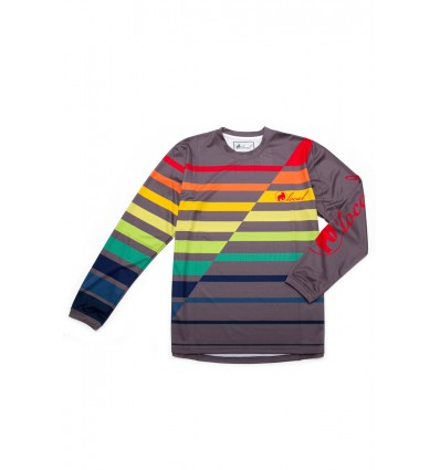 Jersey DH Local Outerwear Glory 2017 Grey/Multicolor