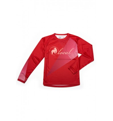 Jersey DH damski Local Outerwear Sparkle 2017 Red